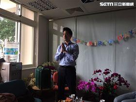 ▲國民黨立委蔣萬安歡度40歲生日,並許下願望。(圖/記者林仕祥攝)