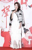 三立新八點台劇「炮仔聲」首映會,李燕。(記者林士傑/攝影)