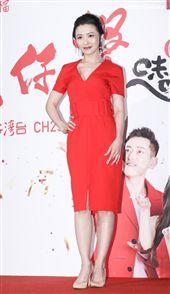 三立新八點台劇「炮仔聲」首映會,吳婉君。(記者林士傑/攝影)
