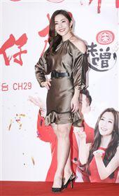 三立新八點台劇「炮仔聲」首映會,王宇婕。(記者林士傑/攝影)