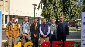 國家地震中心專家出席印度地震工程研討