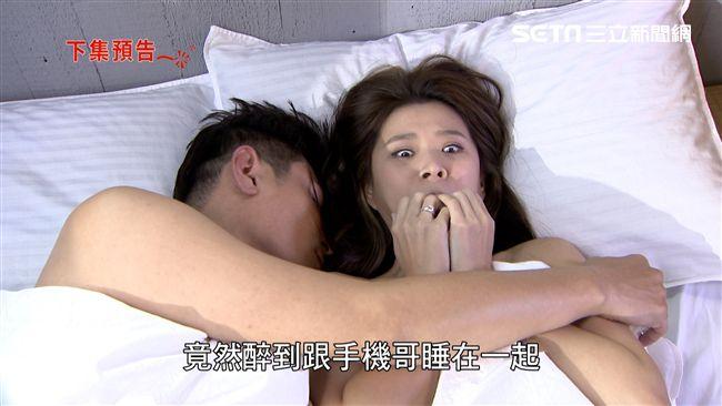 女星喝爛醉療情傷 醒來身邊躺著他…