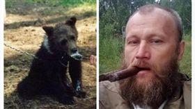 人熊殊途!4年前救小熊當寵物 獵人慘被殺死「當食物」(圖/翻攝自《太陽報》)