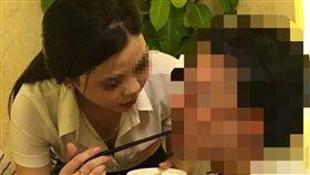 越南,殘廢餐,餵食,筷子,緊身襯衫,砲兵