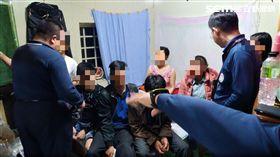 越南,移民署,非法打工(翻攝畫面)