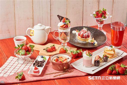 星巴克,新品,草莓季。