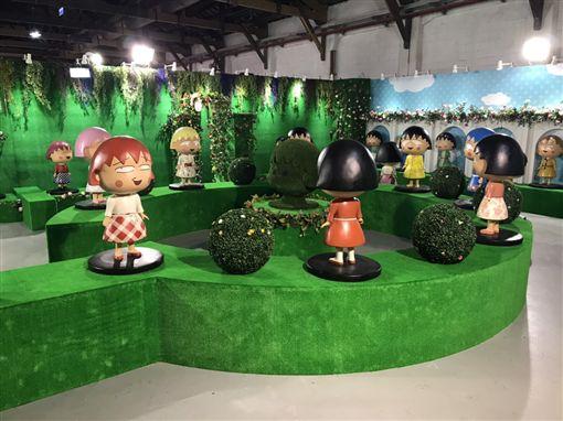 櫻桃小丸子的夢想世界主題展(記者郭奕均攝影)