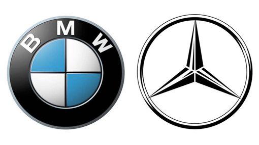 BENZ & BMW(圖/翻攝網路)