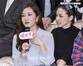 炮仔聲首播開紅盤,王宇婕、陳子玄出席祝賀。(記者林士傑/攝影)