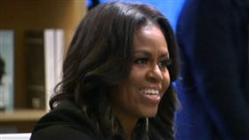 蜜雪兒,歐巴馬,希拉蕊,美國(圖/翻攝自ABC7 Eyewitness News Twitter)