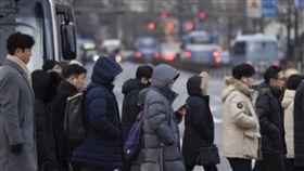 韓國,寒冷,寒流,天氣,冷。(圖/翻攝自@chongdamdong124推特)