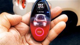 Nissan GT-R智慧鑰匙。(圖/翻攝網站)