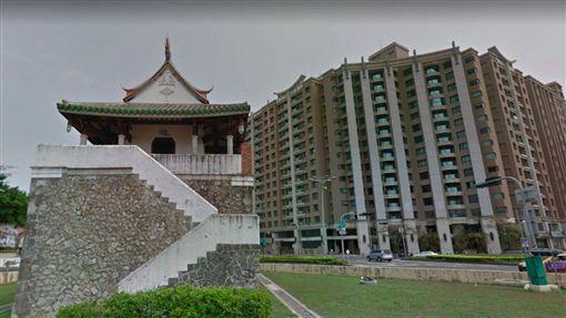 高雄旧城南门。(图/翻摄自googleMap)