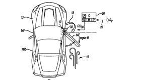 通用汽車電動門專利圖。(圖/翻攝網站)