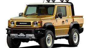 Jimny Sierra Pickup Style。(圖/翻攝網站)