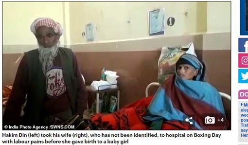 印度,懷孕,80歲,高齡產婦/每日郵報