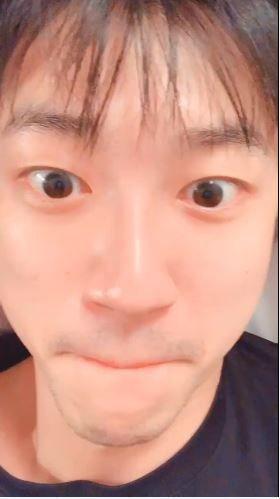 江宏傑,福原愛(圖/微博)