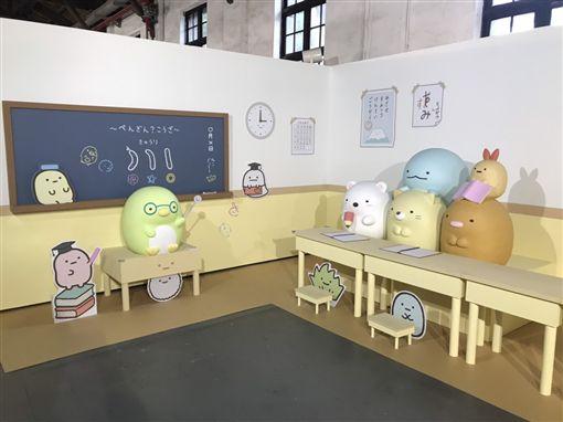 超療癒!風靡日本「角落小夥伴」登台 成超夯打卡熱點(記者郭奕均攝影)