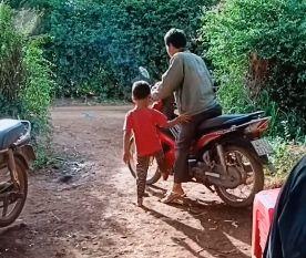 小孩害人摔車(圖/翻攝自FB)