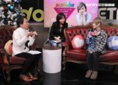 日本AV女優椎名空娛樂星聞直播。(記者邱榮吉/攝影)