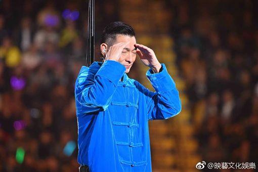 劉德華/翻攝自映藝文化娛樂微博