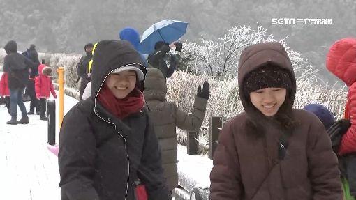 冷到跨年!連假搶泡湯 玉山最快30日飄雪