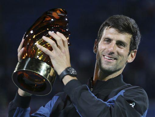 ▲喬科維奇拿下個人第4個世界網球錦標賽冠軍。(圖/美聯社/達志影像)