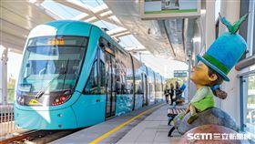 淡海輕軌,新北捷運公司,跨年夜,新北市政府交通局,疏運,/新北捷運公司提供