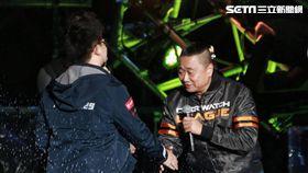 台北跨年:黑人、天心、海芬、邰志源、「世界冠軍」Tom60229 圖/記者林士傑攝影