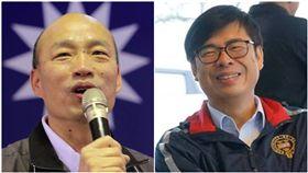陳其邁、韓國瑜,合成圖/翻攝自臉書