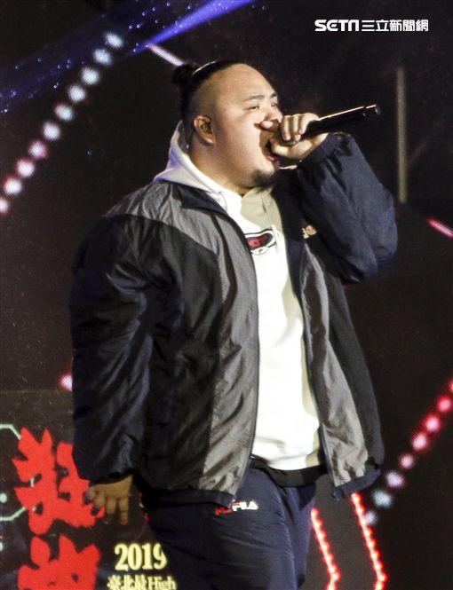 台北跨年:頑童 圖/記者林士傑攝影