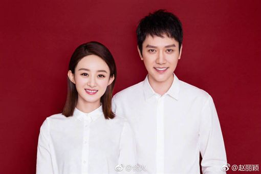 馮紹峰與趙麗穎新婚不到3個月。(圖/翻攝自微博)