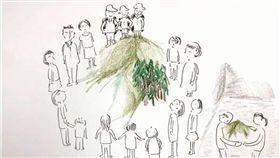 林務局為何公開檜木群資訊?超美「手繪影片」曝光原因 圖/翻攝臉書