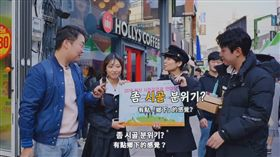 (圖/翻攝自胃酸人教韓文YouTube)韓國,YouTuber,胃酸人,街訪,鄉下
