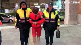 警方循線逮捕楊男(翻攝畫面)