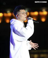 2019臺北市政府跨年晚會演唱嘉賓蕭秉治(廷廷)。(記者林士傑/攝影)