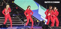 2019臺北市政府跨年晚會韓國女團EXID。(記者林士傑/攝影)