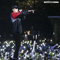 2019臺北市政府跨年晚會頑童MJ116。(記者林士傑/攝影)