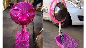 爽抽「電風扇」超實用…打開包裝傻眼!竟變6個獎品 泰國臉書粉絲專頁「teambigkren 」