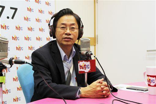 前行政院長張善政2日接受廣播節目《蔻蔻早餐》專訪。(圖/Hit Fm《周玉蔻嗆新聞》製作單位提供)