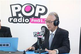 ▲國民黨主席吳敦義。(圖/《POP撞新聞》提供)