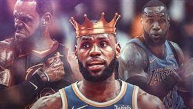 NBA/詹皇榮登2018年度得分王 NBA,洛杉磯湖人,LeBron James,得分王 翻攝自推特ClutchPoints