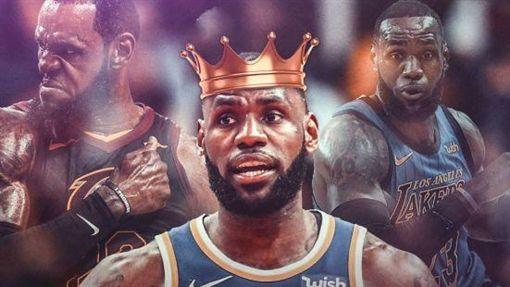 NBA/詹皇榮登2018年度得分王NBA,洛杉磯湖人,LeBron James,得分王翻攝自推特ClutchPoints