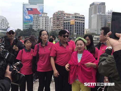 白冰冰赴高雄拍《來去高雄》MV 圖/高雄市觀光局提供