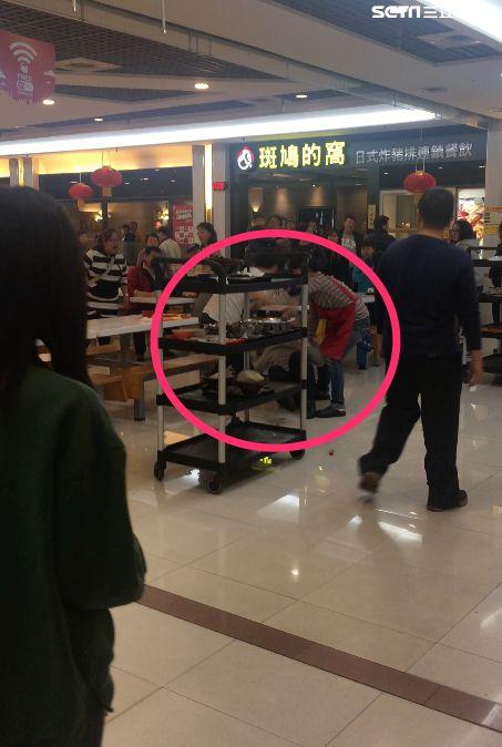 內湖,台北,大潤發,免洗碗筷,打架,濺血,元旦
