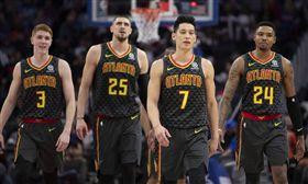 NBA/林書豪8分 老鷹慘敗華盛頓 NBA,亞特蘭大老鷹,林書豪,華盛頓巫師 翻攝自推特
