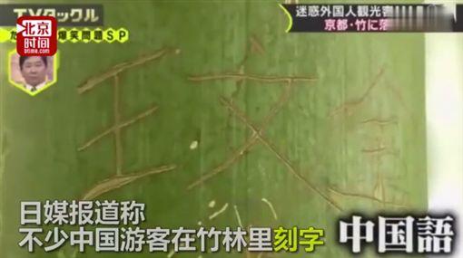 中國遊客在日本不文明行為/北京時間