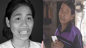 女整容後返家 聾啞母拒相認一把推開她(圖/越南《24h》)