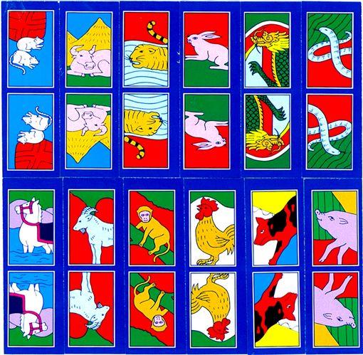 十二生肖,12生肖(圖/翻攝自維基百科)