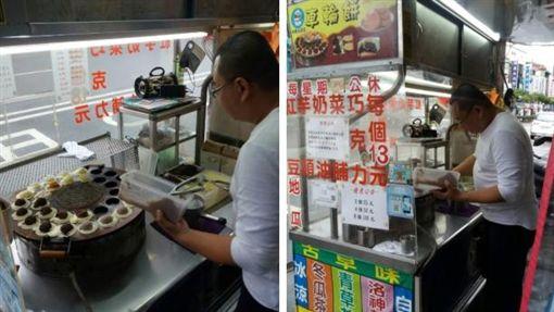內壢火車站車輪餅攤 圖/翻攝自DCARD